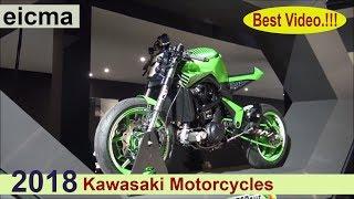 Kawasaki 2018 Motorcycles -  all bikes in one video.!!!
