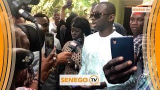 Pape diouf en gambie pour un don de ndogou à ses fans
