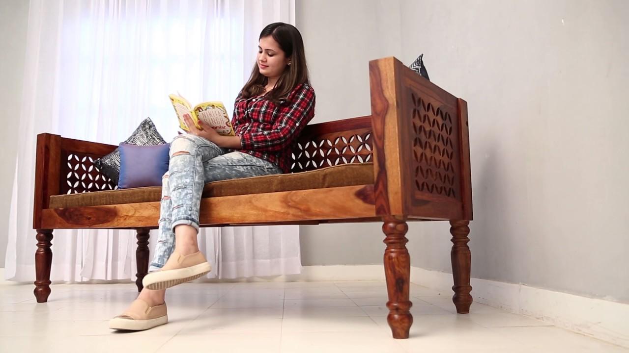 Divan Online   Angelica Divan Online In India @ Wooden Street
