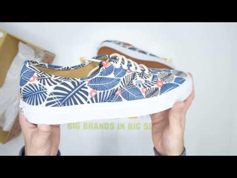 Vans UA Authentic - Tropic Havana - Unboxing | Walktall