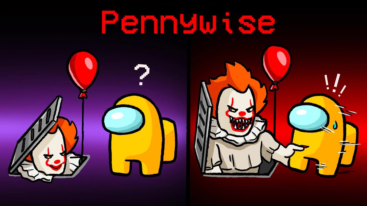 Download AMONG US, aber mit PENNYWISE! 🤡