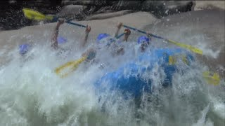 White Water Rafting Lower New River (06-07-2015)