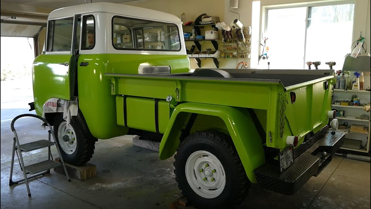 Jeep Fc 150 Paint Assembly Update 4 1963 Willys Youtube Concept Truck