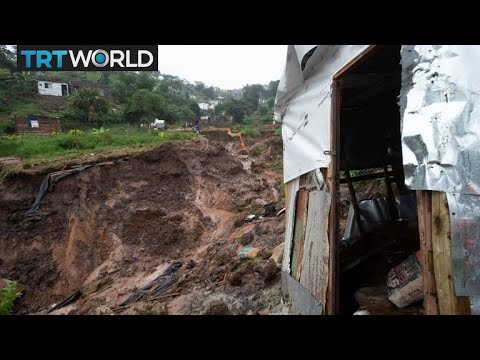 South Africa Floods: At least 33 killed in flooding and mudslides