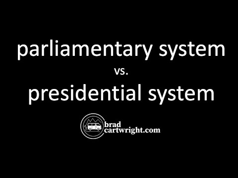 Parliamentary vs Presidential System of Government
