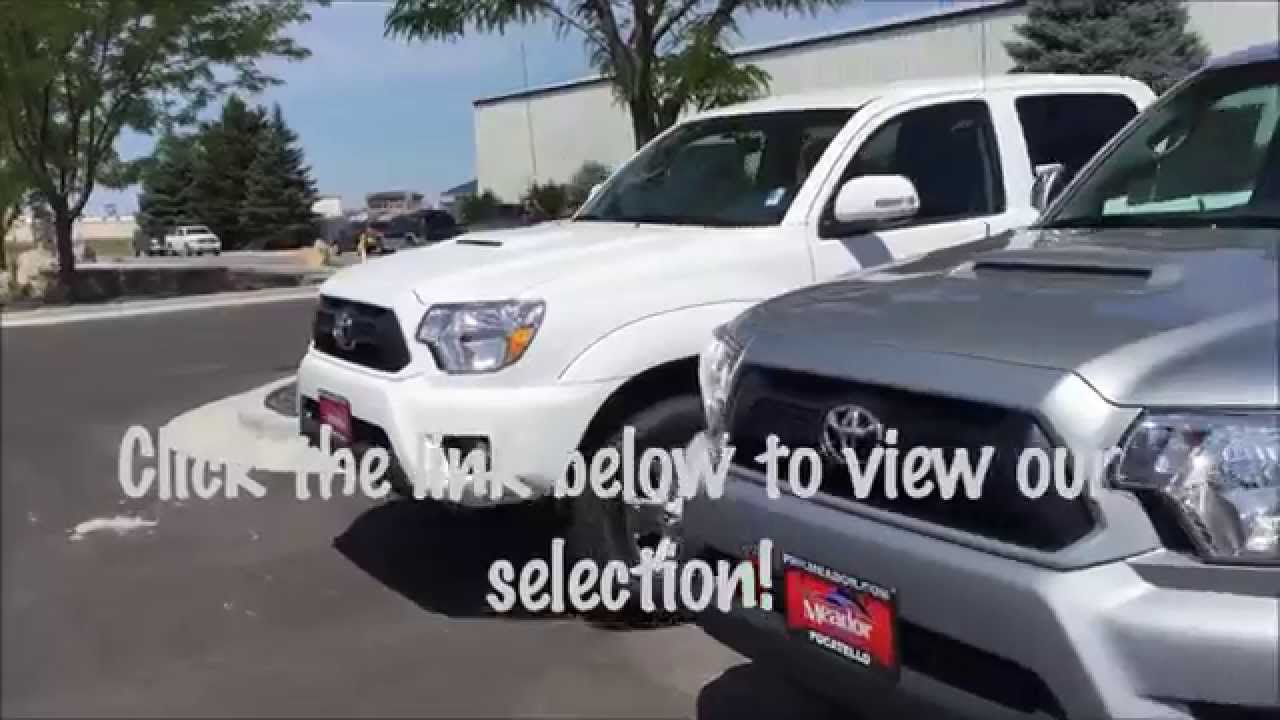 phil meador toyota huge selection of 2015 toyota tacomas in pocatello youtube. Black Bedroom Furniture Sets. Home Design Ideas