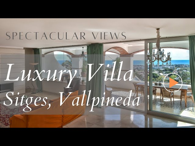 Luxury Villa for Rent in Sitges
