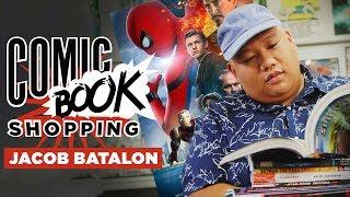 'Spider-Man: Homecoming' Star Jacob Batalon Goes Comic Book Shopping & Talks Hobgoblin