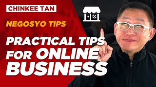 Negosyo Tips: Practical Tips for Online BUSINESS