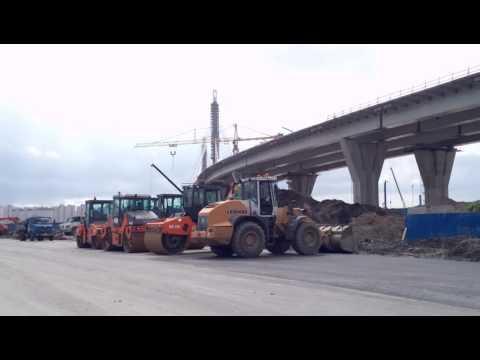 Saint Petersburg,construction of the stadium on Krestovsky island,4K