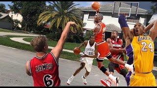 Recreating Historic NBA Moments