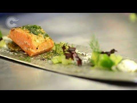 Marinated Smoked Salmon With Dill And Cucumber By Agnar Sverrisson
