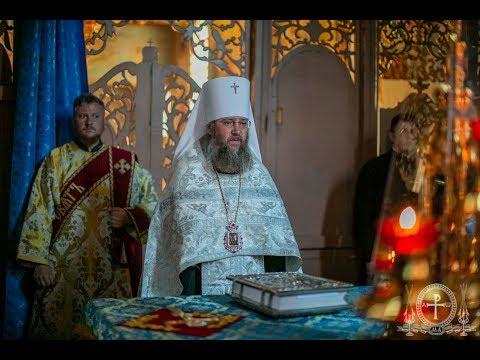 Вечерня и повечерие в Чумалевском монастыре