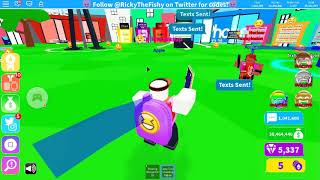 TEXTING SIMULATOR UPDATE 3 GAMEPLAY /Roblox With Andrew