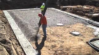 HFH Wausau - drainage stone