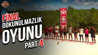 Final Dokunulmazlık Oyunu 4. Part   32. Bölüm   Survivor Türkiye - Yunanistan