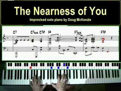 The Nearness of You - a jazz piano lesson