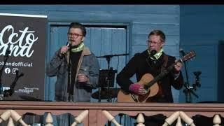 Duo Roope Nykänen & Jarno Hopponen @Vihreää valoa puhumiselle Porukalla -tapahtumassa