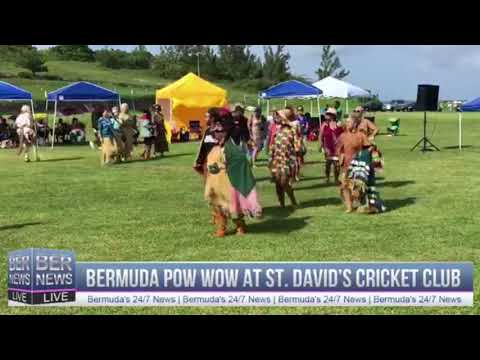Bermuda Pow Wow In St David's, June 10 2018