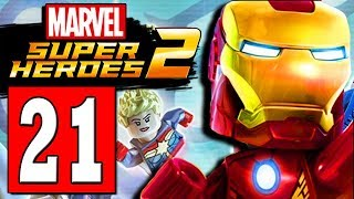 LEGO Marvel Super Heroes 2 Walkthrough Part 21 MONORAIL TUBE TO BRIDGE / KORVAC DEFEATED