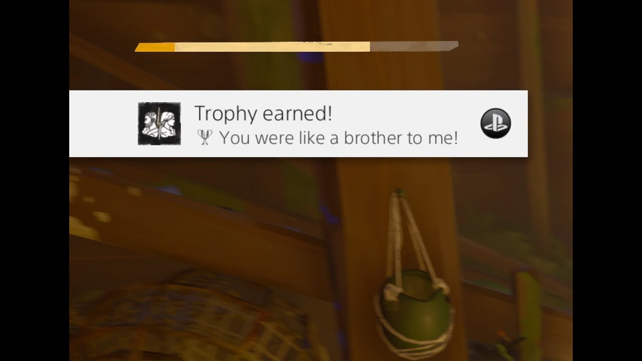 Absolver You Were Like A Brother To Me Cargal Kilnor Trophy