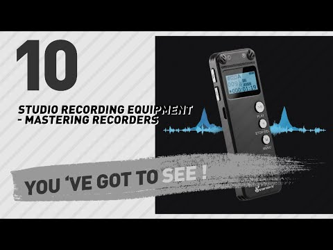 Studio Recording Equipment - Mastering Recorders, // New & Popular 2017