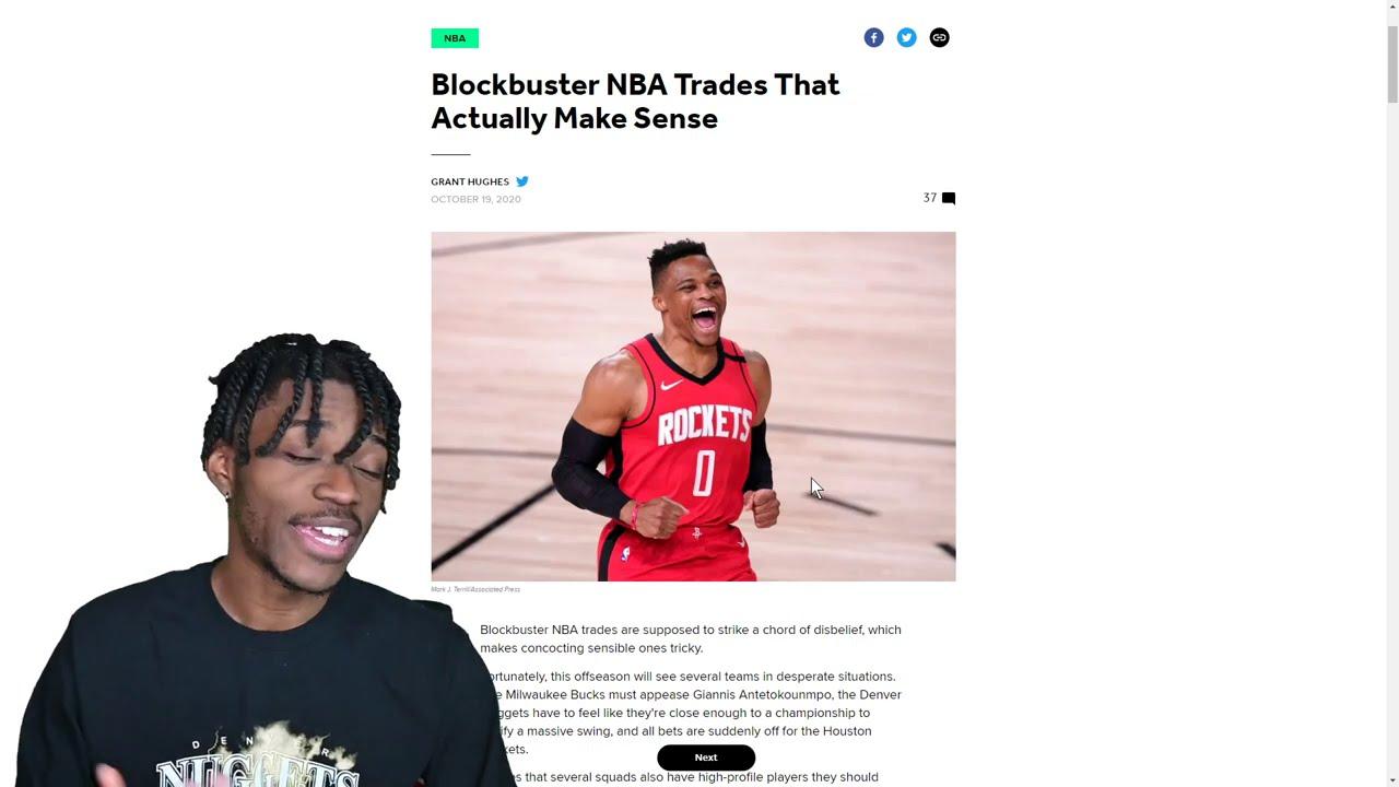 Blockbuster NBA Trades That Actually Make Sense