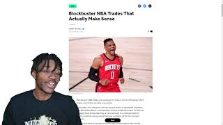 Blockbuster NBA Trades That Actually Make Sense