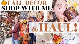 FALL DECOR SHOP WITH ME! | *REALISTIC* + Affordable Haul 2019