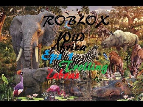 Roblox Wild Africa Trolling Zebras Youtube