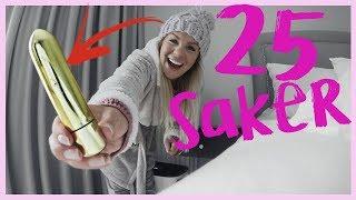 25 SAKER I MIN LÄGENHET