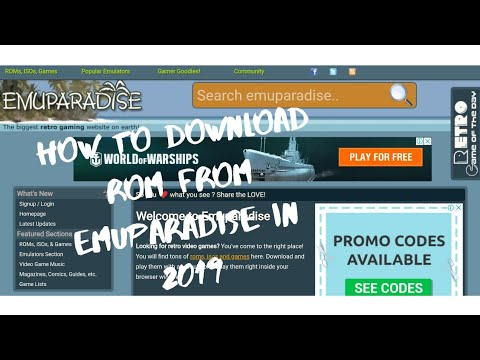 How To Download ROM From Emuparadise In 2020