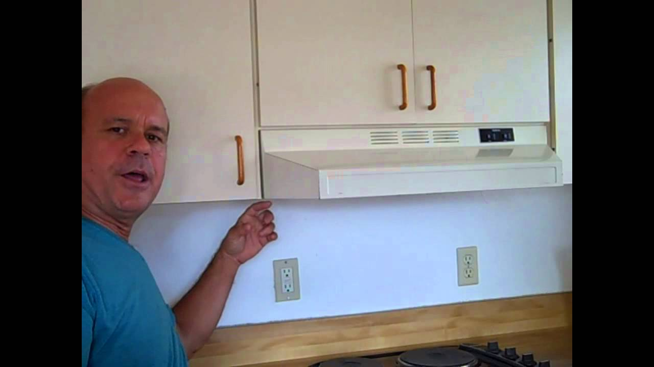 installation height for the cabinet over the micorwave