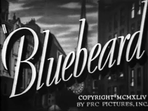 Film Noir Crime Horror Movie - Bluebeard (1944)