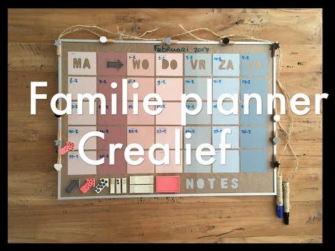 Super Familie kalender / gezinsplanner / agenda 2019-2020 - Mamaliefde.nl EZ-11