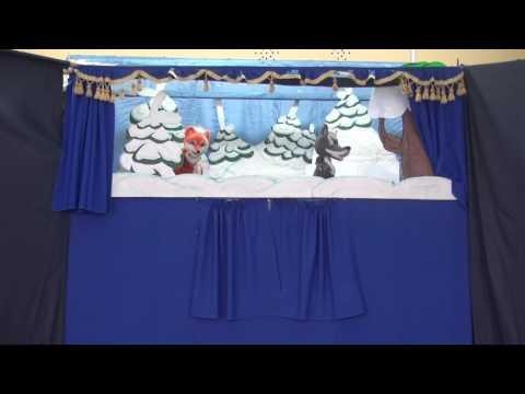 Театр кукол Мир сказки- Лисичка-сестричка и серый волк