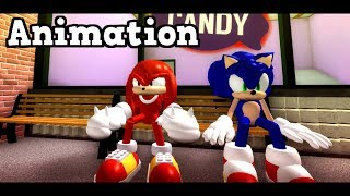 Best Friends or Enemies? Funny Cinematic Sonic The Hedgehog AU Animation Roleplay