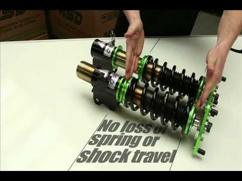 HSD HR Coilovers Suspension-TDot Performance