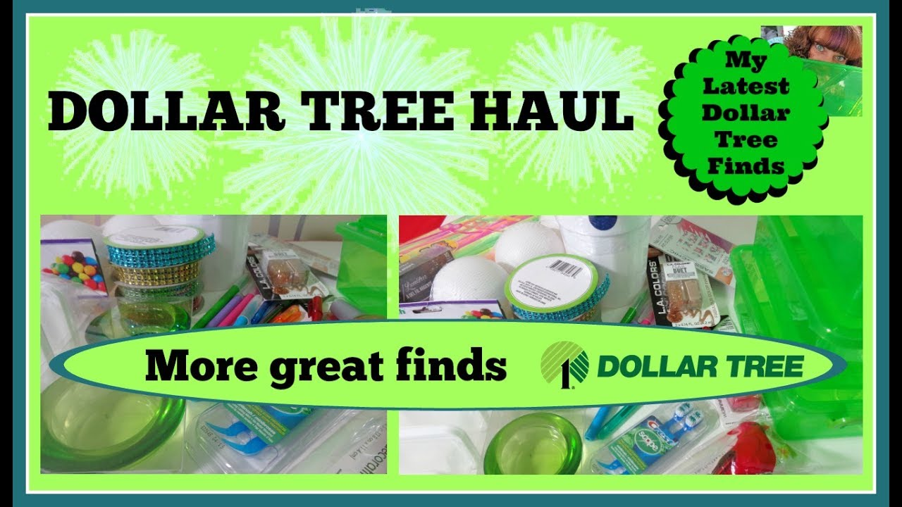 DOLLAR TREE HAUL!!!!!!! Lots of great stuff for crafting and more ...