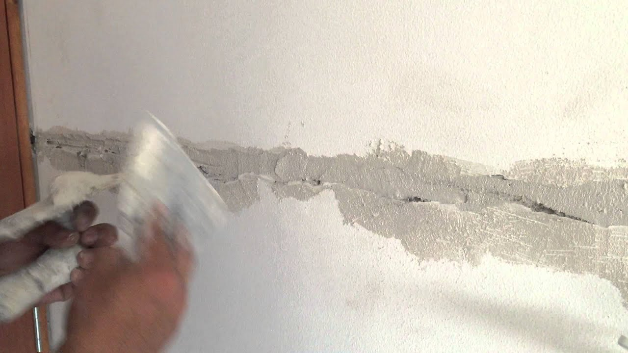 Reparaci n de fisuras en muros youtube - Reparar grietas pared ...