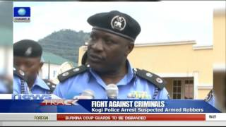 Kogi Police Arrests Suspected Armed Robbers 27/09/15