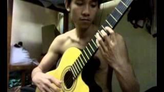 Bài hát cổ nước Ý - Tremolo - guitar Quỳnh Phương Quỳnh Lưu Nghệ An