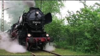 Eisenbahnen zwischen Erzgebirge und Rügen 2/4 Steam Trains - Züge - Dampfloks thumbnail