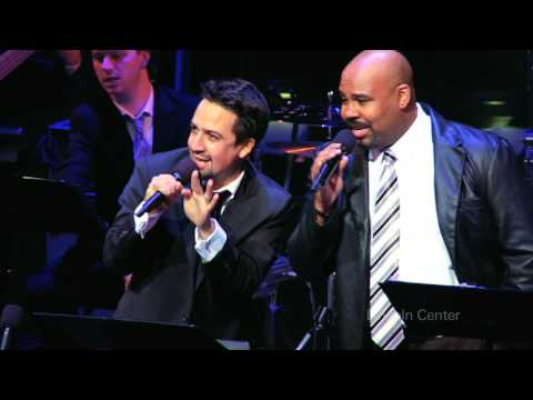 Lin-Manuel Miranda at Lincoln Center's American Songbook in 2012