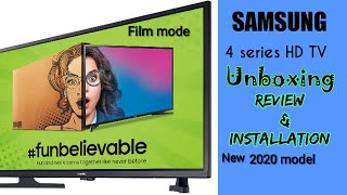 SAMSUNG (32 inches)HD TV UA32T4010ARXXL UNBOXING AND REVIEW