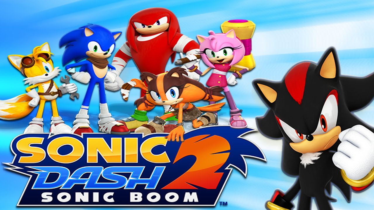 ApkMod1.Com Sonic Dash 2: Sonic Boom v1.7.15 + МOD (infinite Red Rings) download free Android Arcade Game