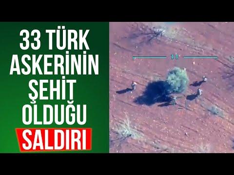 RUSYA'NIN HAVA SALDIRISI - 33 ŞEHİT - SURİYE/İDLİB'DE SON DURUM 27 ŞUBAT 2020