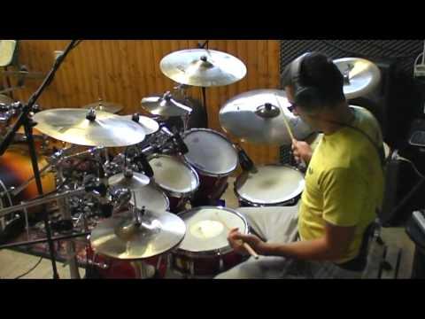 Toto  - Rosanna - Drum Cover By Andrea Mattia