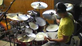 Toto  - Rosanna - drum cover by Andrea Mattia