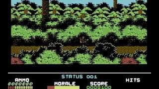 Platoon Longplay (C64) [50 FPS]